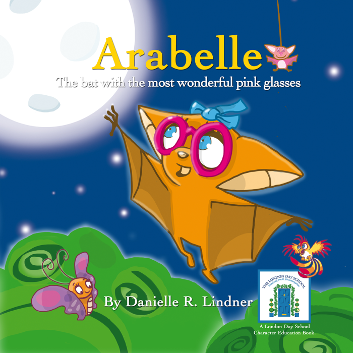 Arabelle: The little bat with the most wonderful glasses