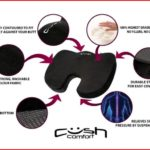 Cush Cushion – The World's Most Comfortable Seat Cushion
