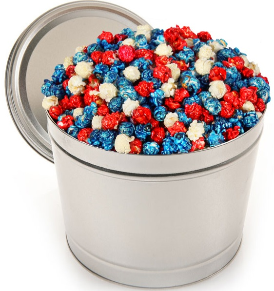 The Patriotic Popcorn Tin