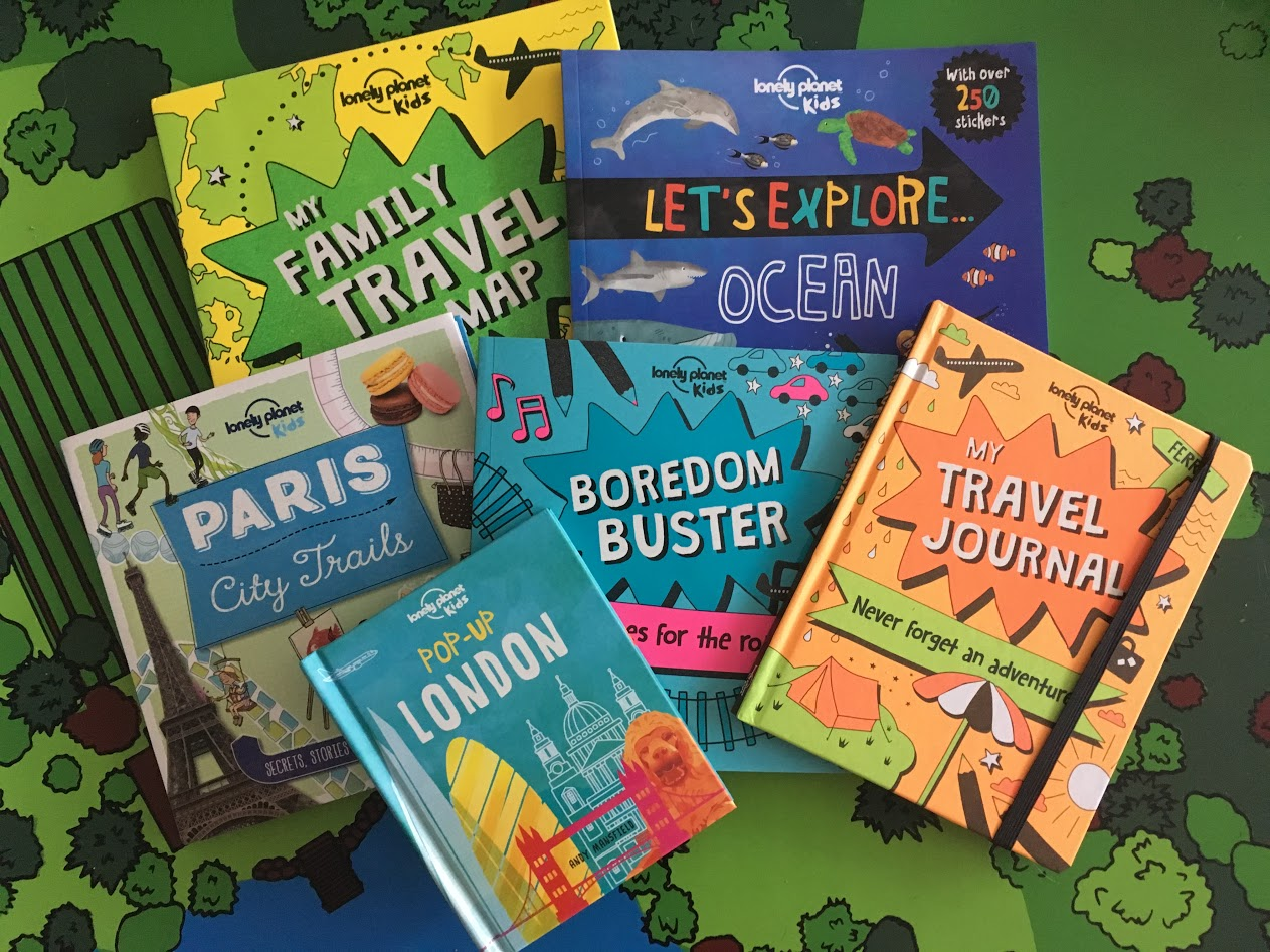 NEW Book Series For Young Adventurers From Lonely Planet Kids