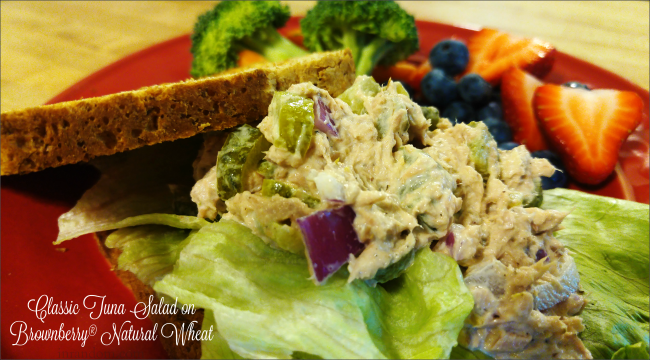 A Better Tuna Salad Sandwich on Arnold® Natural Wheat + Giveaway!