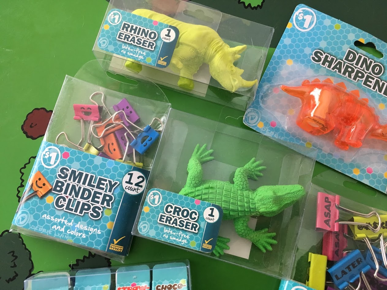 Debbie Lynn Smiley Binder Clips