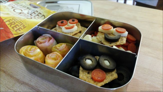 Funny Faces Bento Box with Crunchmaster