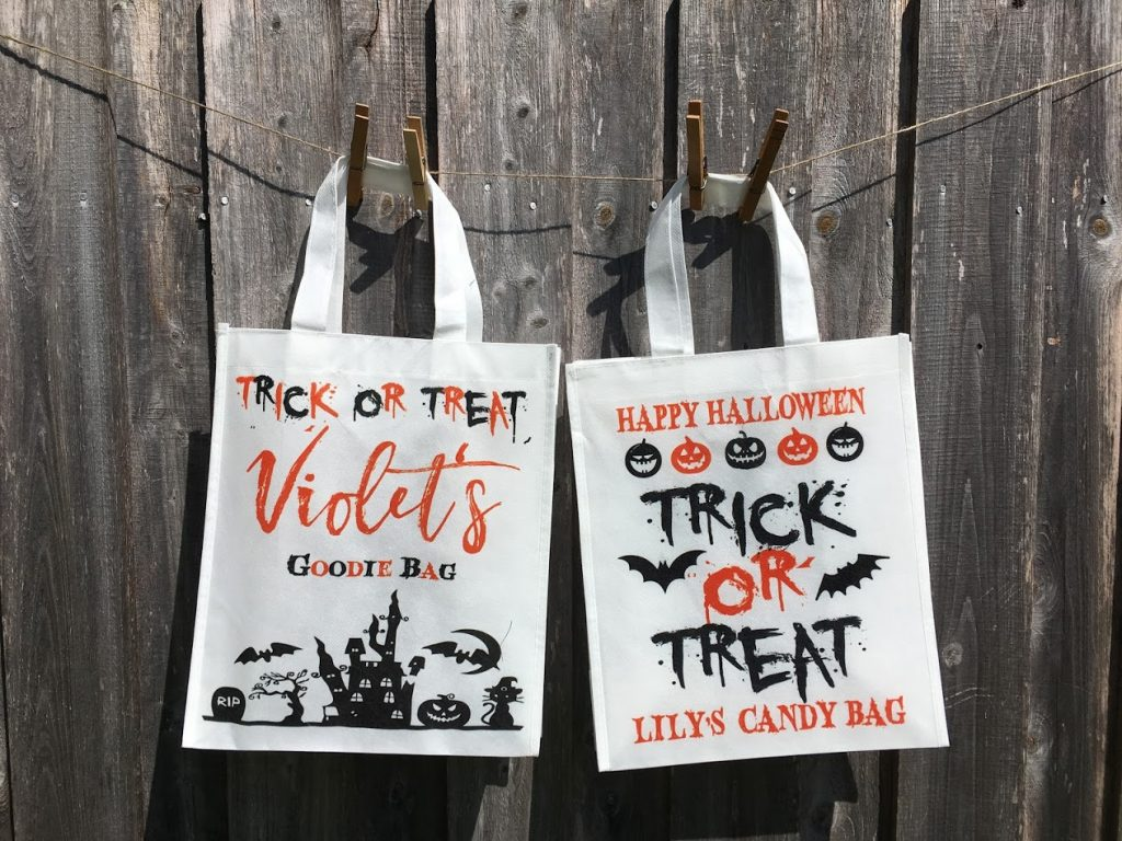Personalized Halloween Treat Bags From StampOut
