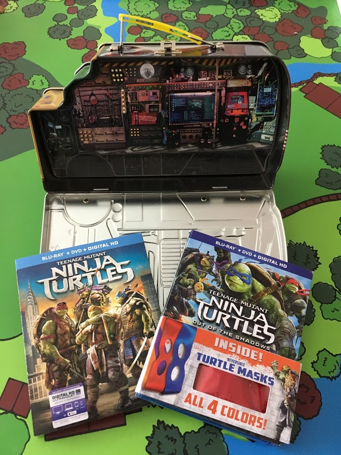 Halloween With The Teenage Mutant Ninja Turtles Gift Set