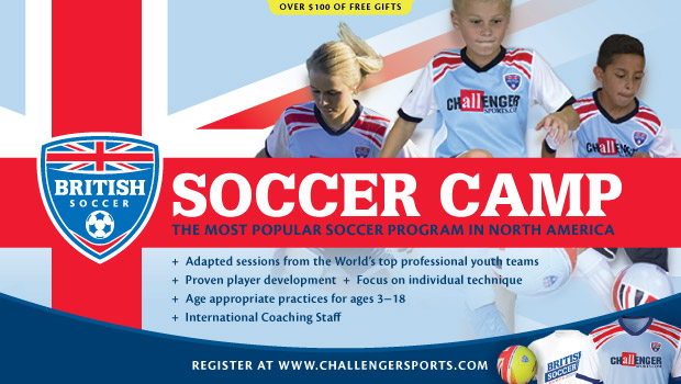 British Soccer Camp Coupon Code