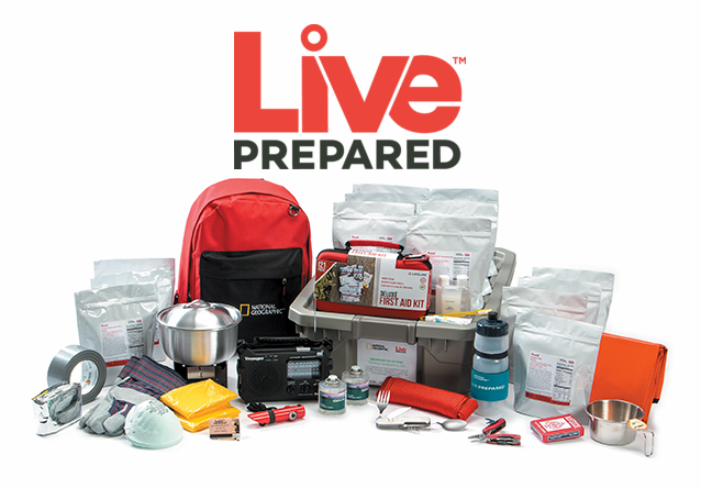 Live Prepared Emergency Kit