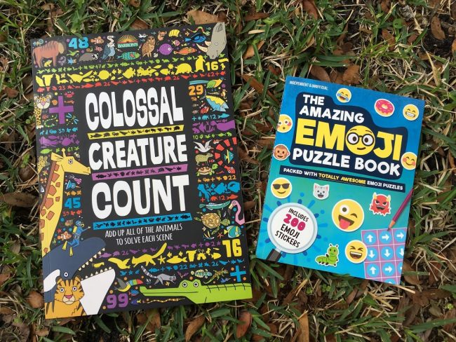 More Amazing Activity Books For Kids