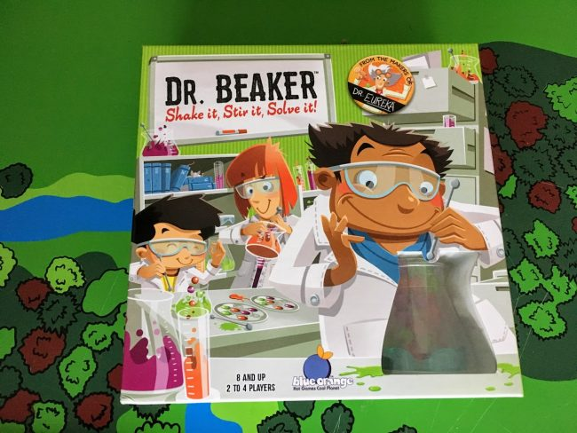 Dr. Beaker is the Fast Based Board Game Using Logic & Scientific Elements