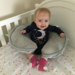 The Boppy Luxe Feeding & Infant Support Pillow is a Must Have Baby Product!