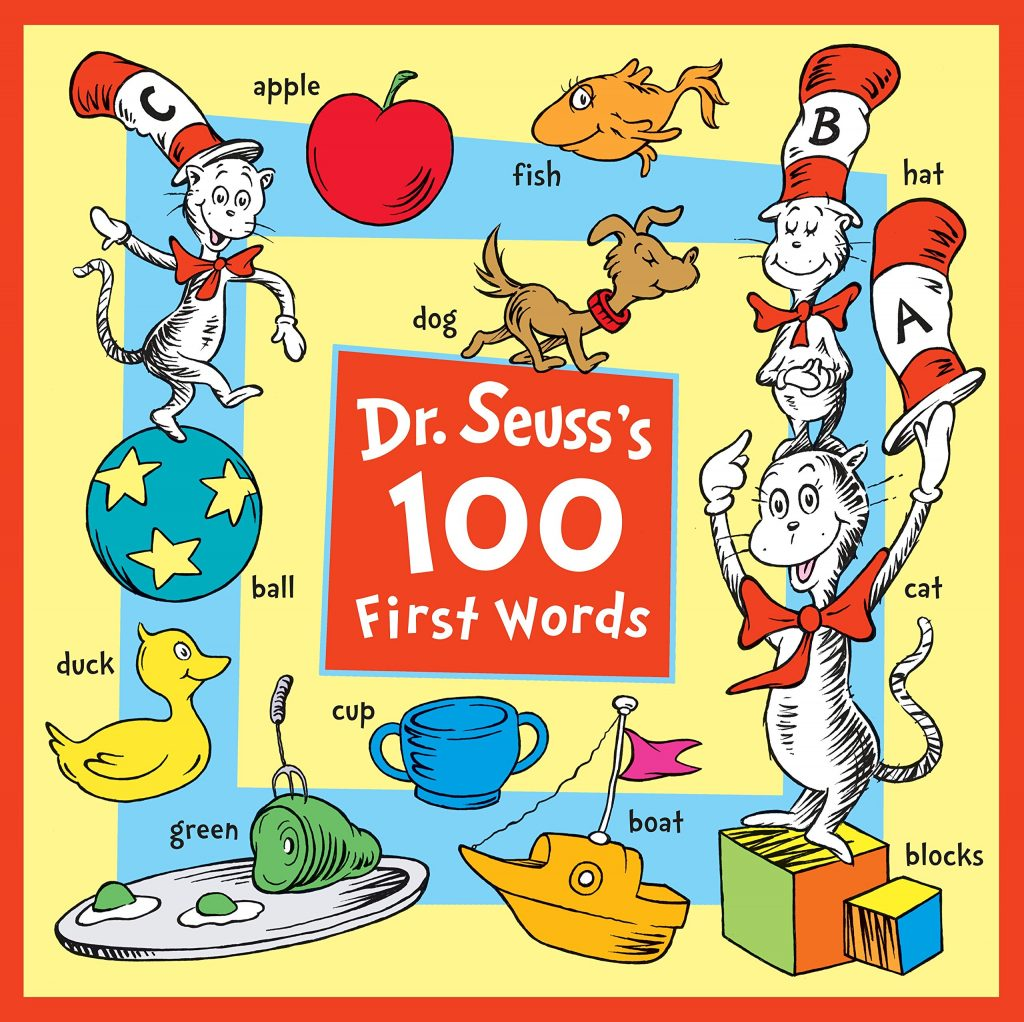 Dr. Seuss\'s 100 First Words Board Book for Babies & Toddlers